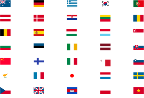 対応海外言語一覧